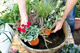 Pictures Garden Ideas For Small Space  Best Image LibrariesContainer Garden Ideas Uk
