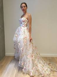 embroidered wedding dress. 20 Blooming Gorgeous Floral Wedding Dresses Weddings Pinterest