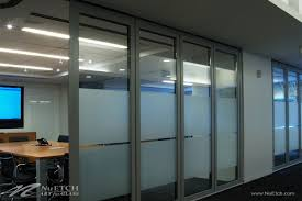 office glass panels. NuEtch - Art For Glass Privacy On Panels Office G