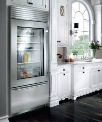 fridges with glass door view in gallery stylish glass door refrigerator for a kitchen in neutral