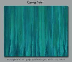 cobalt blue and emerald green large oversized abstract wall art blends well with seafoam green turquoise and teal and it s suitable for home or  on seafoam green canvas wall art with cobalt blue and emerald green large oversized abstract wall art