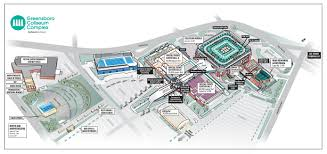 Greensboro Special Events Center Seating Chart Greensboro Coliseum Guide By Stameys Barbecue Restaurant