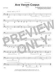 ave verum corpus sheet music ave verum corpus k618 tuba 2 sheet music at stantons sheet music