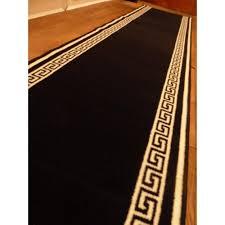 hallway runner rugs kate marker interiors grant residence hallway for black runner rugs for hallway