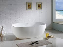 pacific collection pbt tropicana 6030 cr tropicana 60 inch x 30 inch white oval soaking bathtub