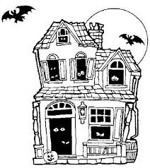 Small Picture Online for Kid Haunted House Coloring Page 29 In Free Coloring
