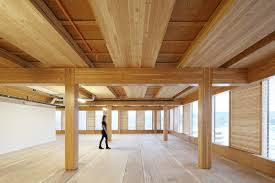wooden office buildings. To Design Its Timber-framed Building, Hines Interests Tapped Michael Green Architects, The Wooden Office Buildings L