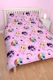 Pony Bedroom Accessories My Little Pony Equestria Double Duvet Set Repetitive Print