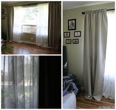 ikea curtain system rÄcka hugad double curtain rod with ninni trÅd lace curtains and
