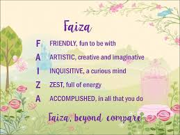 Download the perfect free pic pictures. Acrostic Name Poems Faiza
