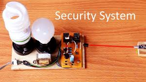 How To Make A Laser Light Security System How To Make Security Light Alarm System Circuit At Home Laser Alarm Light Circuit