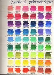 54 Of 84 Neocolor Ii Oil Pastel Art Color Art Lessons