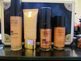 oily skin foundations make up forever hd