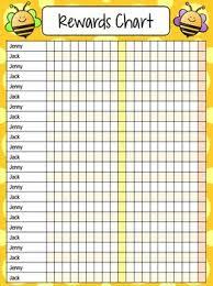 How To Make A Reward Chart For Behaviour Reward Chart Whole Class