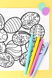 Free Printable Easter Coloring Page Hey Lets Make Stuff