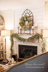 best 25 farmhouse fireplace ideas on farmhouse with regard to over the fireplace decor plan