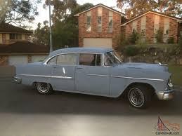 Chevy 1955 Chevrolet 55 Chev Belair 4 Door Sedan