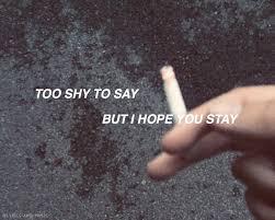 Billie Eilish Lyrics Tumblr