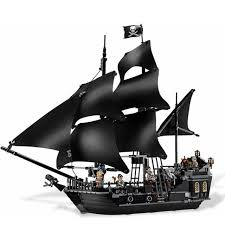 804pcs black pearl ship bricks pirates of the caribbean building blocks toys for children patible