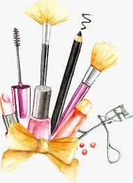 vector painting makeup tools cosmetic makeup tools png and vector