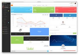 Top Web App Designs 31 Best Bootstrap 4 Admin Templates For Web Apps 2019 Colorlib