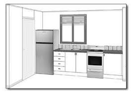 basic kitchen design layouts. Straight Kitchen Layout View Basic Design Layouts
