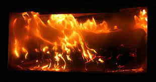 how to clean gas fireplace glass doors