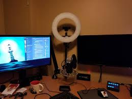 Streaming Light Setup
