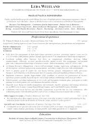 Front Office Resume Gorgeous Medical Front Office Assistant Cover Letter Resume Examples