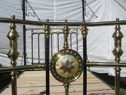 antique brass bed. Image May Contain: 1 Person, Smiling Antique Brass Bed