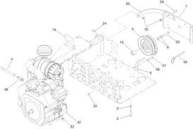 Engine and clutch assembly
