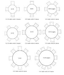 full size of round dining table sizes with best images about room and standard