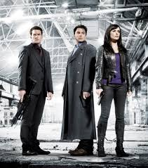 streaming guide sci fi tv shows that are totally binge worthy john barrowman eve myles and gareth david lloyd in torchwood 2006