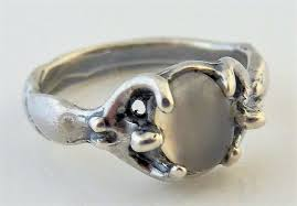 moon dess ring 925 sterling silver sz 6 w natural moonstone earth dreamer from