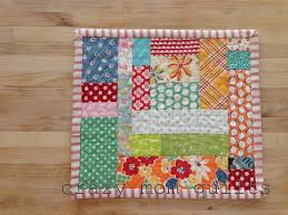 174 best mug rugs, coasters & small quilts/table runners images on ... & Mini mat with honeycomb quilting @ crazy mom quilts Adamdwight.com