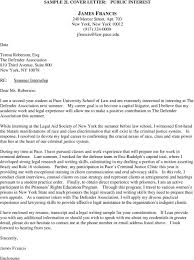 Cover Letter Public Defender Sample Cover Letters Other Correspondence Pdf
