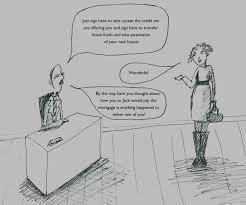 mortgage insurance cartoon