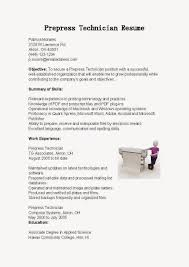 Prepress Technician Resume Sample - Http://www.resumecareer.info ...