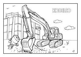 Kemp Groep Kobelco Kleurplaten