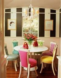 Colorful Dining Room Tables Awesome Decorating Design