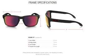 Oakley Lens Size Chart Oakley Holbrook Sunglasses Red Iridium Lens