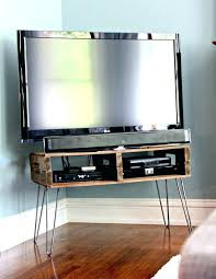 diy corner tv stands simple stand homemade stand corner stand instructions diy rustic corner tv stand
