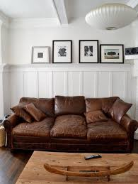 Leather Apartment Sofa Furniture Design