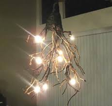 tree branch lighting.  Tree Diy Rustic Tree Branch Chandelier For Tree Branch Lighting