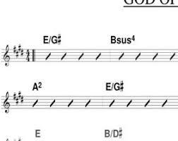 33 Actual Worship Music Chord Chart