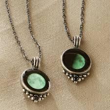 custom glow in dark moon necklace 63