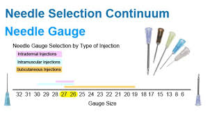 Syringe Needle Gauge Size Chart How To Select Veterinary Needles Sizes Bn Packaging