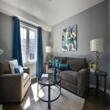 grey walls brown furniture. Orange And Gray Living Room Blue With Accent Wall Grey Walls Brown For Furniture