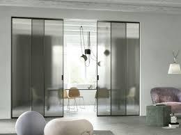 sliding glass modern interior doors interior design ideas