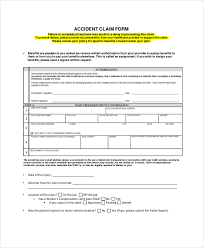 aflac accident claim form sample